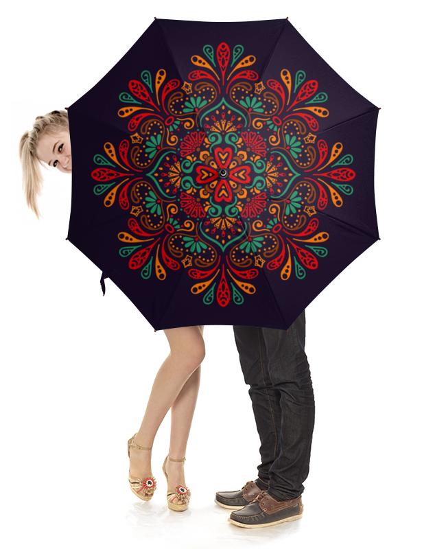 Зонт-трость с деревянной ручкой Printio Кружевной зонт трость двусторонний с деревянной ручкой printio кружевной
