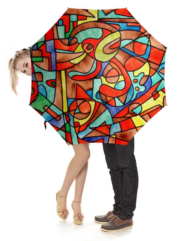 Зонт-трость с деревянной ручкой Printio Vm-mv[=] все цены