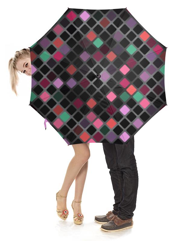 Зонт-трость с деревянной ручкой Printio Разноцветная мозаика разноцветная мозаика тигренок на парашюте 2784
