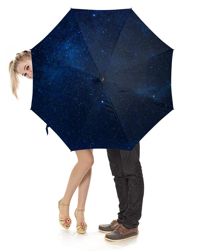 Зонт-трость с деревянной ручкой Printio Звездное небо платье летнее printio звездное небо