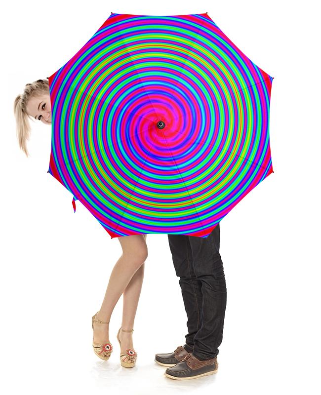 Зонт-трость с деревянной ручкой Printio Радуга-дуга зонт трость с деревянной ручкой printio зонт трость радужные волны