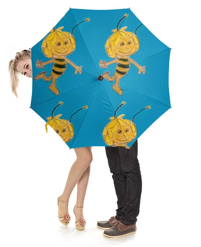 Зонт-трость с деревянной ручкой Printio Пчелка arteast подвеска пчелка