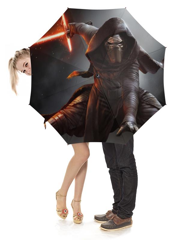 Зонт-трость с деревянной ручкой Printio Звездные войны зонт трость с деревянной ручкой printio звёздные войны