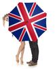 """Зонт-трость с деревянной ручкой """"British Flag"""" - англия, флаг, великобритания, арт дизайн"""
