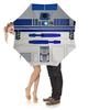 """Зонт-трость с деревянной ручкой """"Star Wars R2-D2 """" - фантастика, робот, звездные войны, r2d2, дроид"""
