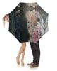 """Зонт-трость с деревянной ручкой """"Смерть и жизнь (Густав Климт)"""" - картина, живопись, климт"""