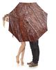 """Зонт-трость с деревянной ручкой """"ржавый лист"""" - дизайн, ржавчина"""