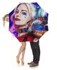 """Зонт-трость с деревянной ручкой """"Harley Quinn"""" - мультфильм, комиксы, харли квинн"""