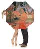 """Зонт-трость с деревянной ручкой """"Женщина, держащая плод (Поль Гоген)"""" - картина, живопись, таити, поль гоген"""