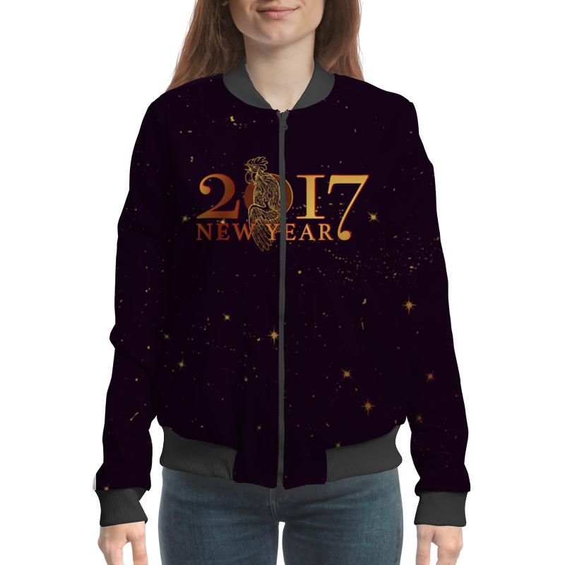 Бомбер Printio Новый год 2017 конева л празднуем старый новый год
