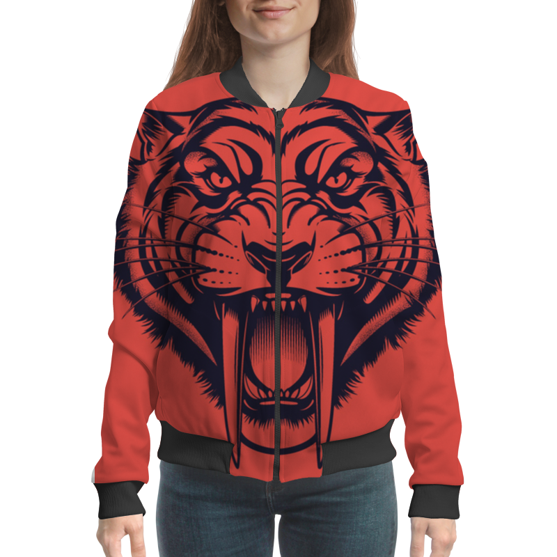 цена на Printio Саблезубый тигр