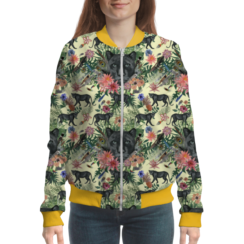 Printio Flora & panther design (day) цены