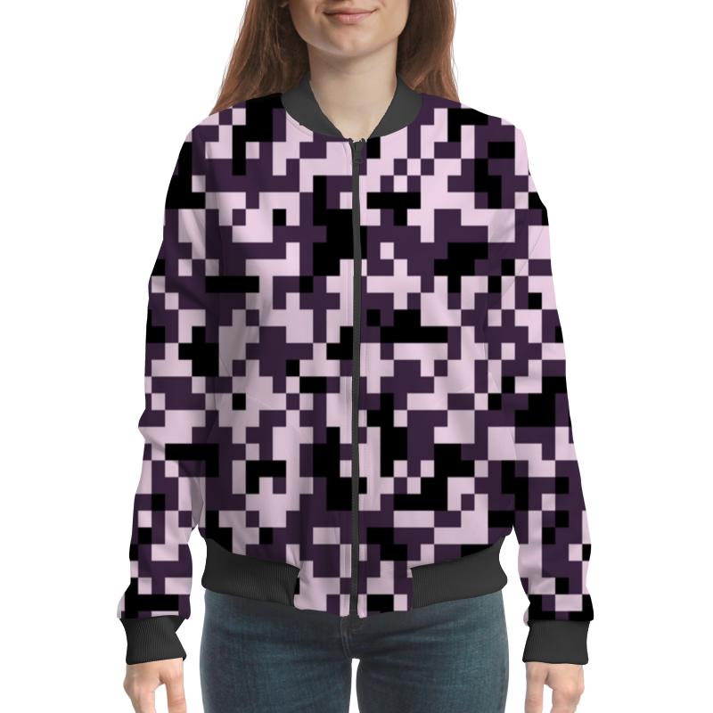 Бомбер Printio Pixel pink бомбер printio pixel camouflage