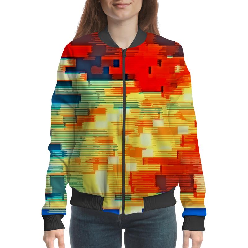 Бомбер Printio Pixel color бомбер printio pixel camouflage