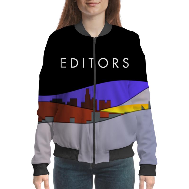 Бомбер Printio Editors