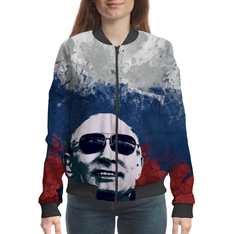 Бомбер Printio Путин бомбер printio путин