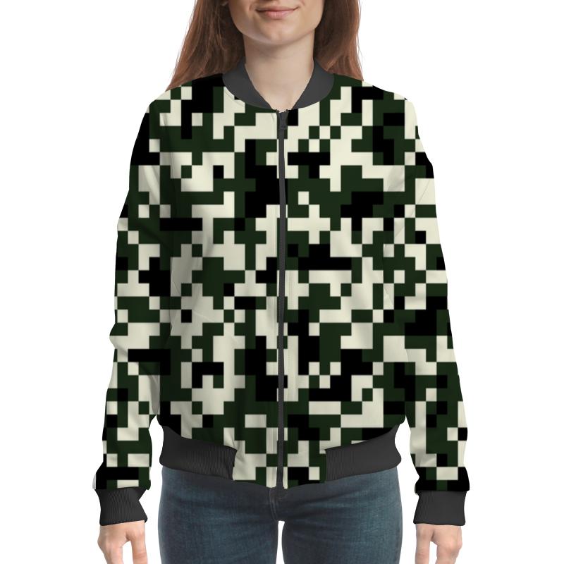Printio Пиксели бомбер printio коричневые пиксели
