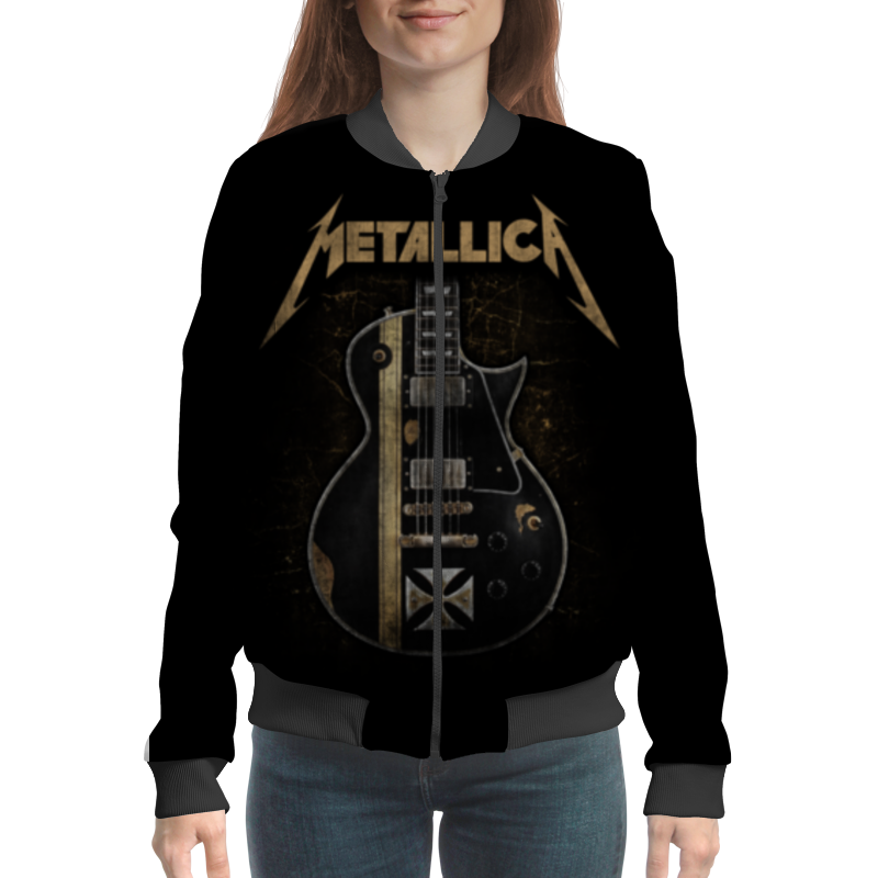 Бомбер Printio Metallica цена