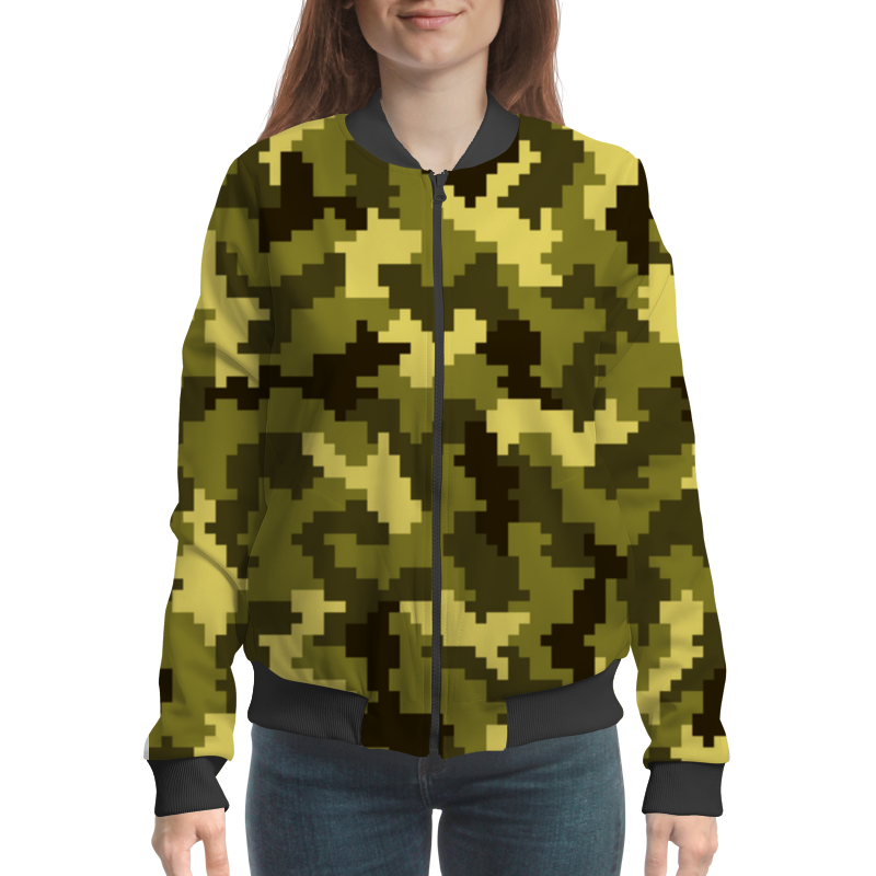 Бомбер Printio Camouflage xintown camouflage winter long sleeved
