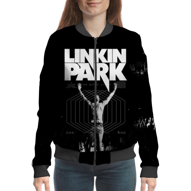 Бомбер Printio Linkin park приправа nagatani park 20
