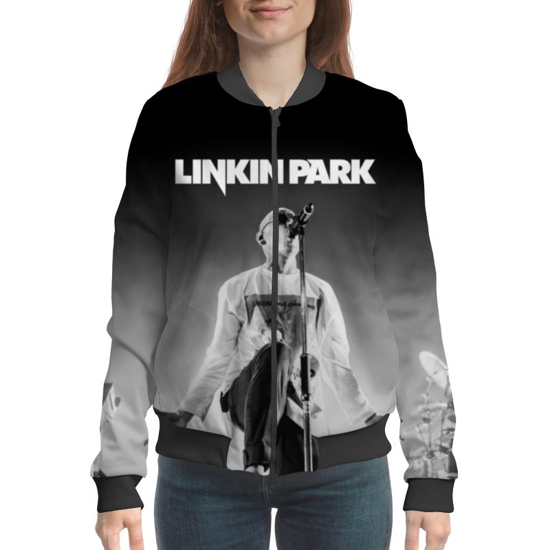 Бомбер Printio Linkin park linkin park linkin park minutes to midnight