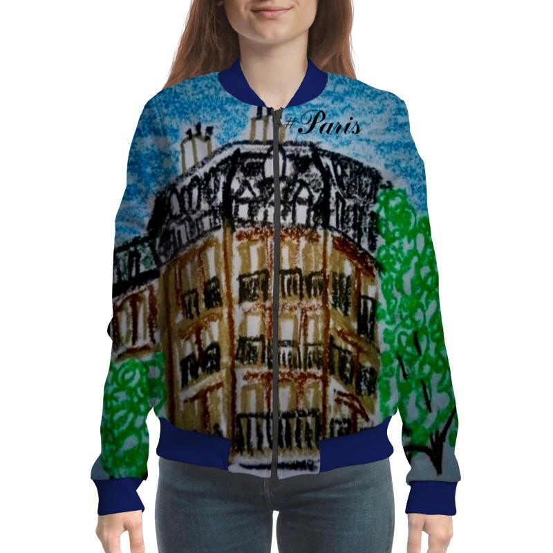 Бомбер Printio Париж-париж париж открытка
