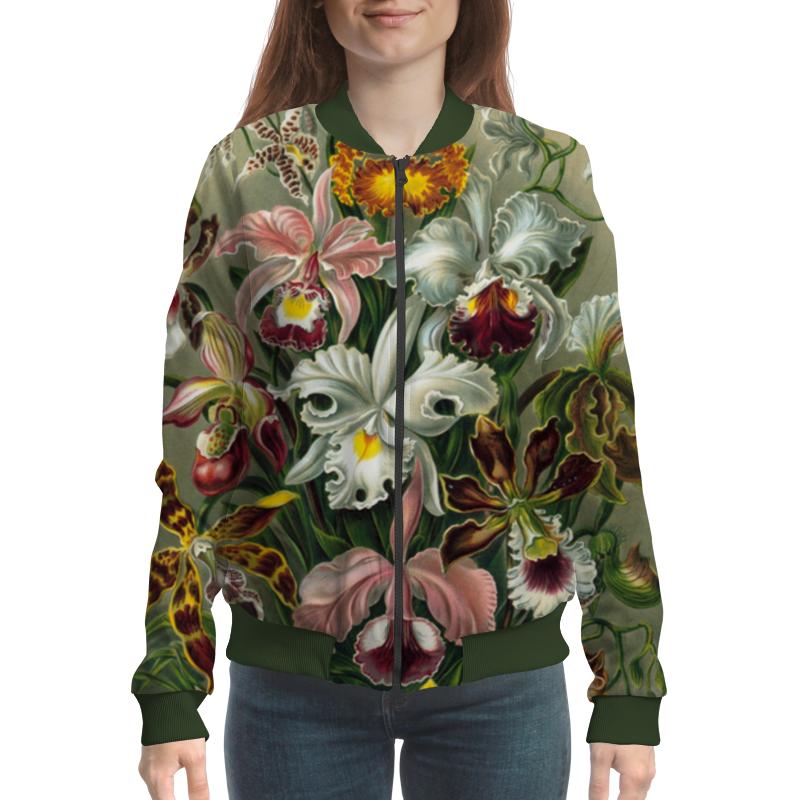 Бомбер Printio Орхидеи для любимой самые дешевые орхидеи в москве