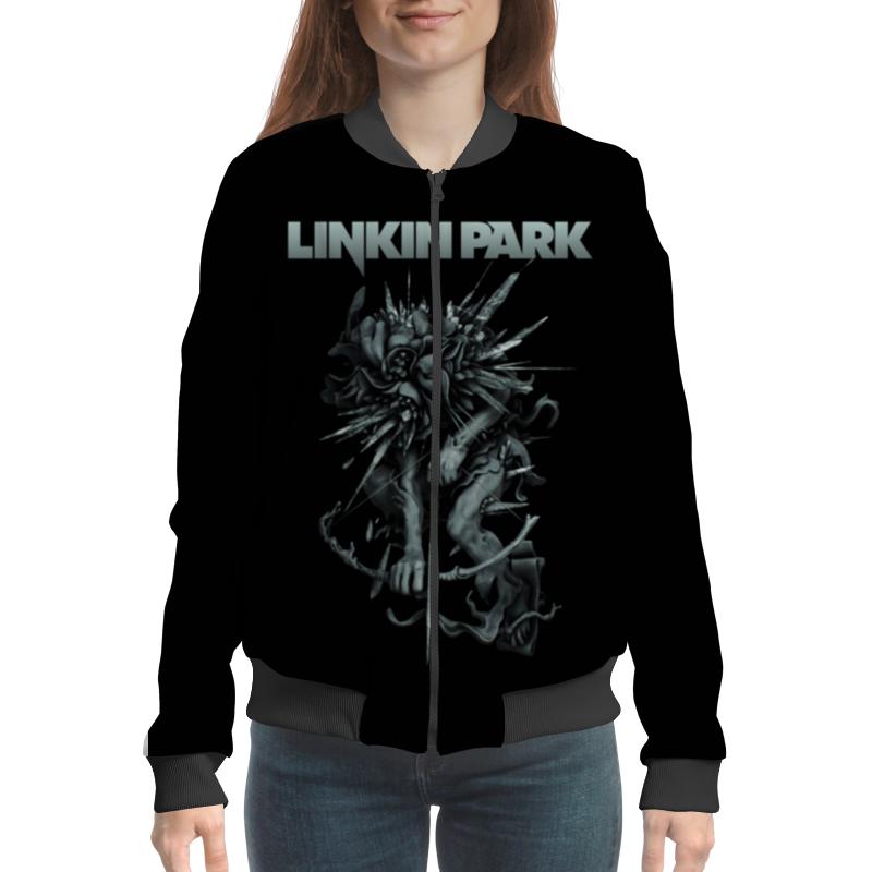 Бомбер Printio Linkin park griffith park