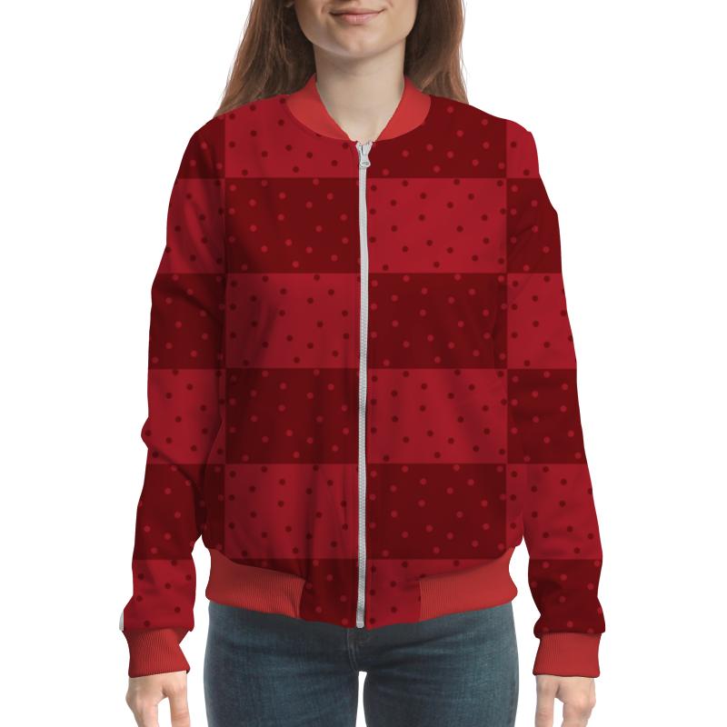 Printio Красный геометрический узор