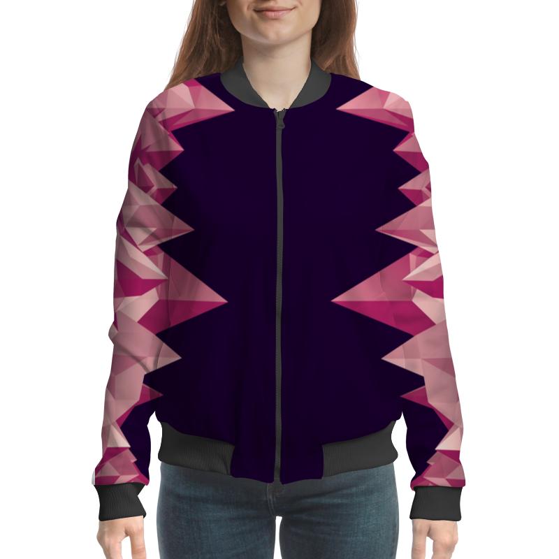все цены на Бомбер Printio Розовые кристаллы онлайн