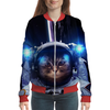 "Бомбер ""Кот космонавт"" - юмор, space, космос, наука, thespaceway"