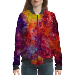 "Бомбер ""Космический"" - space, звезды, космос, cosmos, туманности"