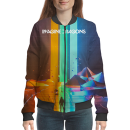 "Бомбер ""Imagine Dragons"" - imagine dragons, музыка, рок"