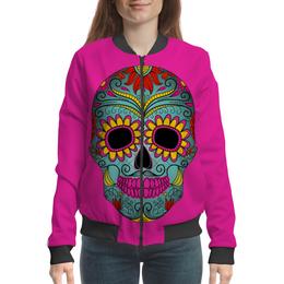 """Бомбер """"Череп"""" - черепа, череп, музыка, стиль, skull"""