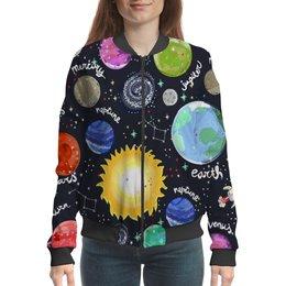"""Бомбер """"Планеты"""" - галактика, созвездия, звезды, космос, планеты"""