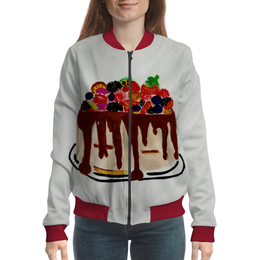"""Бомбер """"Тортик"""" - день рождения, тортик"""