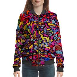 "Бомбер ""rrg`90`90=-="" - арт, узор, абстракция, фигуры, текстура"