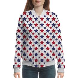 "Бомбер ""Stars"" - арт, стиль, дизайн, графика"