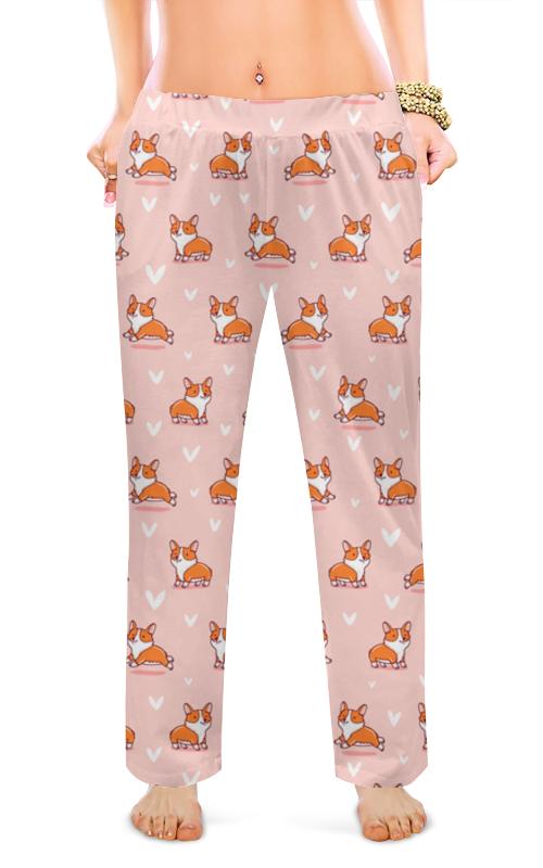 Женские пижамные штаны Printio Корги