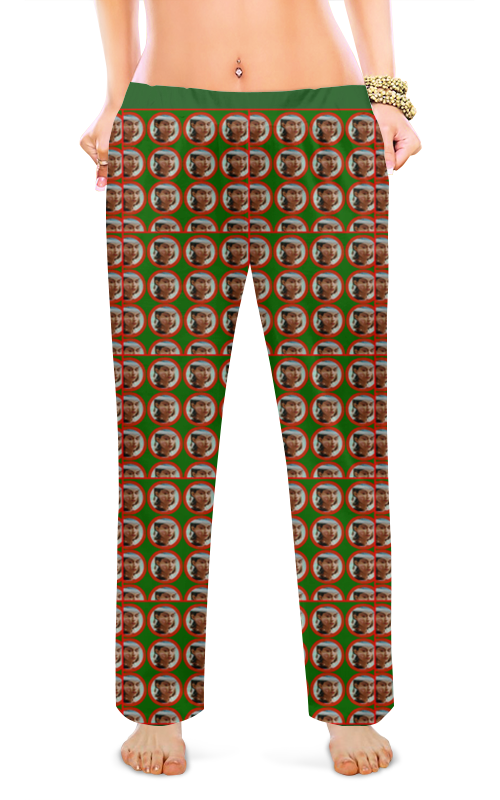 Женские пижамные штаны Printio Flung out of space пижамные комплекты