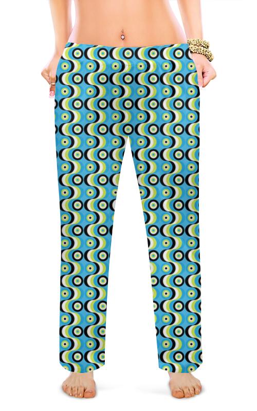 Женские пижамные штаны Printio Волны