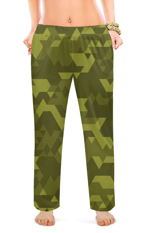 Женские пижамные штаны Printio Милитари женские пижамные штаны printio милитари