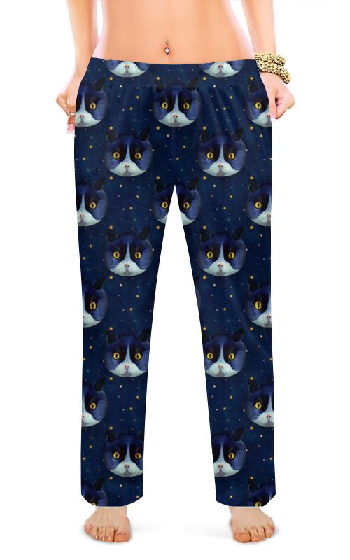 Женские пижамные штаны Printio Кошечки штаны сноубордические женские oakley brookside pant redwood