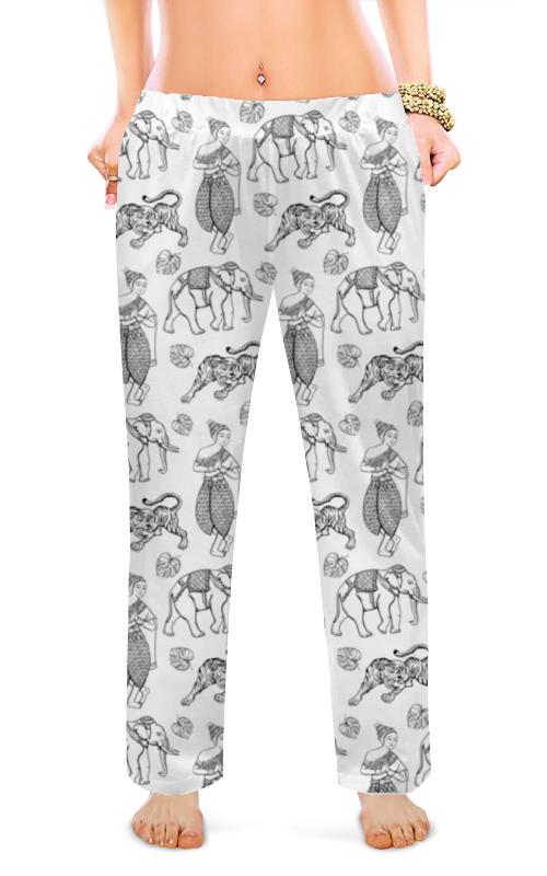 Женские пижамные штаны Printio Тайский узор цена
