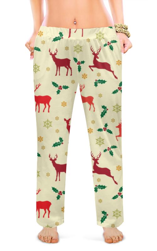 Фото - Женские пижамные штаны Printio Олени штаны fladen authentic