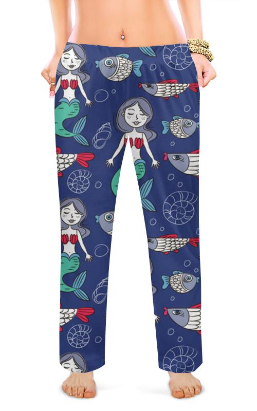 Женские пижамные штаны Printio Русалки пижамные комплекты
