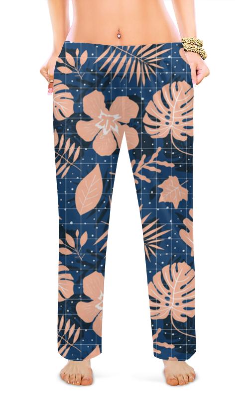 Женские пижамные штаны Printio Тропики