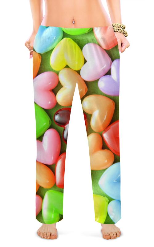 Фото - Женские пижамные штаны Printio Сердце.любовь . штаны fladen authentic