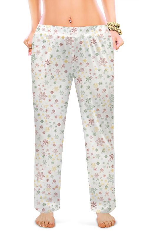 Женские пижамные штаны Printio Звездочки звездочки