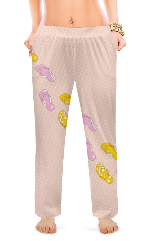 Женские пижамные штаны Printio Сланцы